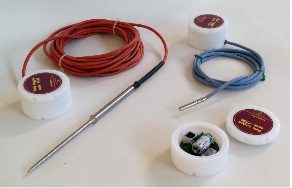 Mini-registratore di temperatura e umidita'
