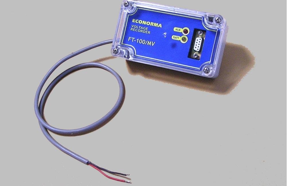 DataLogger per registrazione tensione in protezione catodica FT-100/MV