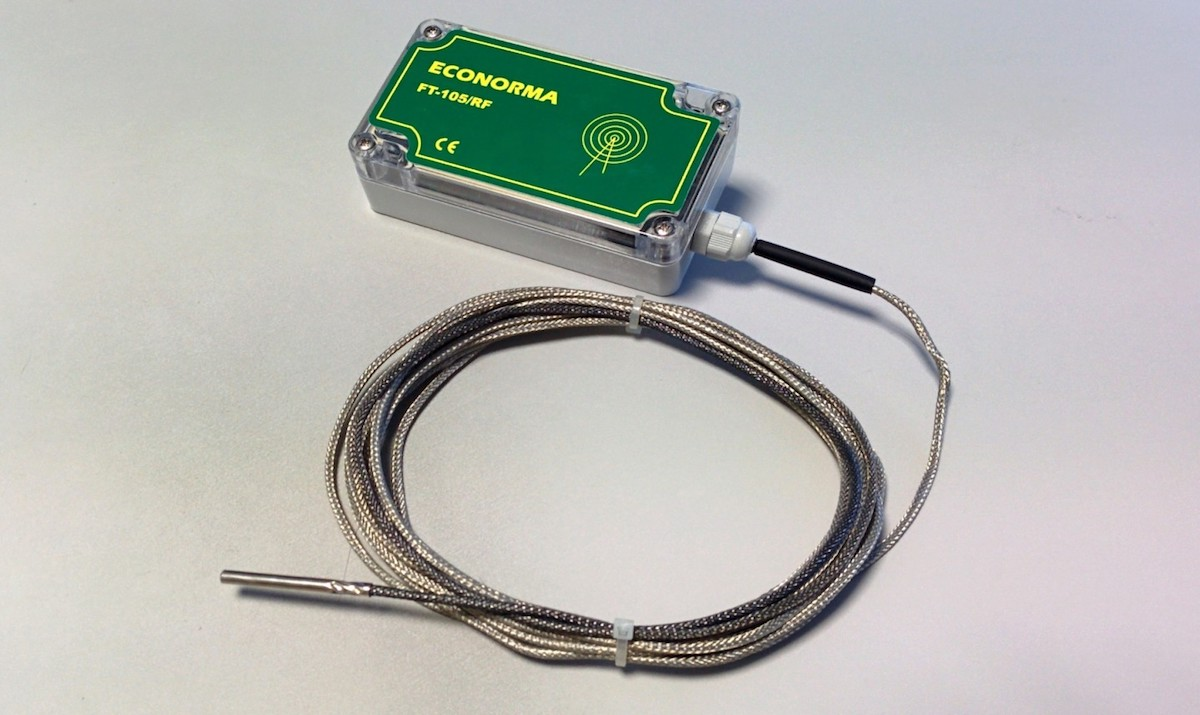 Data Logger alte temperature
